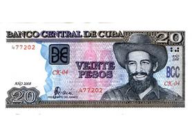 Peso Cubano 20 pesos